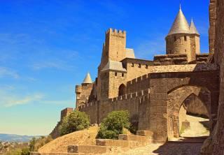 Carcassonne, ville médiévale fortifiée